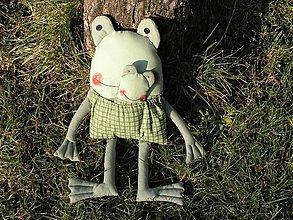 Hračky - Žabka vreckár - 2247158