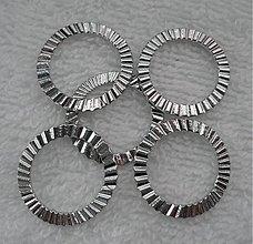 Komponenty - Kov.krúžok oprac.21,5mm-platina-1ks - 2248126
