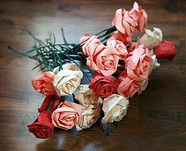 Kytice pre nevestu - Svadobné ruže - 2254257