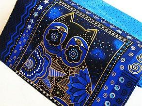Peňaženky - Luxusní Šelmička v modré - 17 x 10,5 - 2256458