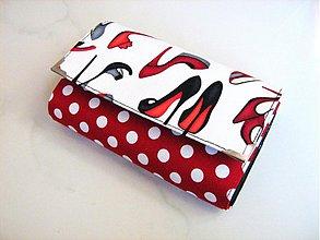 Peňaženky - Moje střevíčky..... 15 x 10,5 peněženka i na karty - 2256479