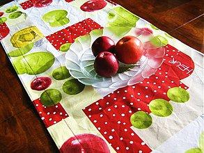 Úžitkový textil - Běhoun na stůl - Voní po jablíčkách - 2256573
