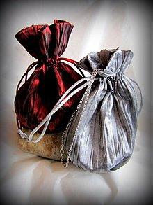 Úžitkový textil - Vrecúško na šperky - 2261605