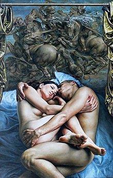Obrazy - Reprodukcia - Láska a nenávisť - 2262573