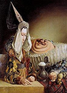 Obrazy - Reprodukcia - Príbeh slečny Gotiky a pána Baroka - 2262583