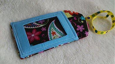 Iné tašky - ZĽAVA Vzorovaná visačka na tašku či kufor - 2262839