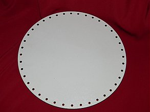 Materiál ručne robený - Spodok kruh na Pedig 18cm - 2265602