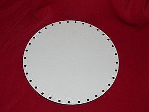 Materiál ručne robený - Spodok kruh na Pedig 15cm - 2265606