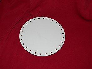 Materiál ručne robený - Spodok kruh na Pedig 12cm - 2265615