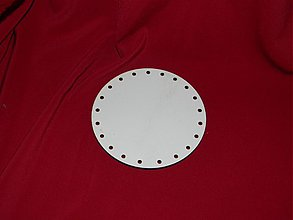 Materiál ručne robený - Spodok kruh na Pedig 10cm - 2265618