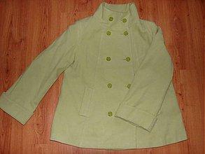 Kabáty - zelený kabát - 2265780