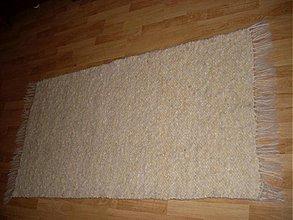 Úžitkový textil - Koberec z ovčej vlny prírodný - 2267789