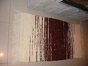 Úžitkový textil - Koberec z ovčej vlny vzorovaný - 2267961