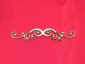Materiál ručne robený - Vyrezavaný ornament 3 - 2272607