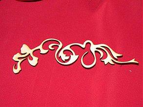 Materiál ručne robený - Vyrezavaný ornament 4 - 2272614