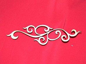 Materiál ručne robený - Vyrezavaný ornament 5 - 2272623