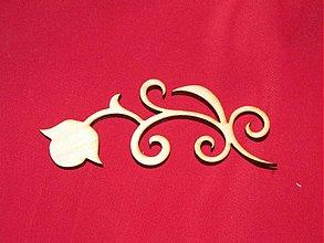 Materiál ručne robený - Vyrezavaný ornament 6 - 2272625