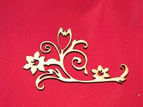 Materiál ručne robený - Vyrezavaný ornament 7 - 2272630