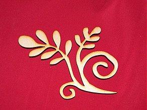 Materiál ručne robený - Vyrezavaný ornament 8 - 2272632