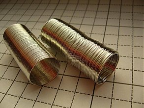 Komponenty - Pamäťový drôt na prstienky - 2275342