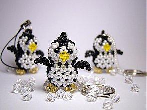 Kľúčenky - Čierno-biely pinguin - 2277593
