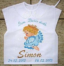 Detské oblečenie - Košielky na krst - 2281271