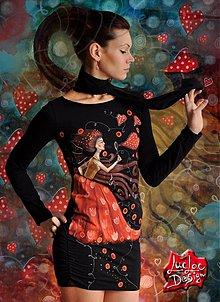 Šaty - Šaty srdcofukové - 2286028