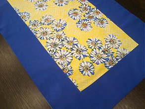 Úžitkový textil - Sedmokráska v modrej - 2287397