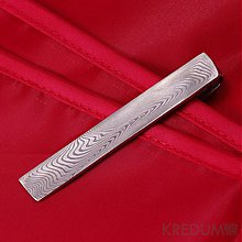 Doplnky - Kovana spona na kravatu damasteel - Loper - 2287834