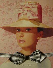 Doplnky - Motýlik na Hepburnku - 2293053
