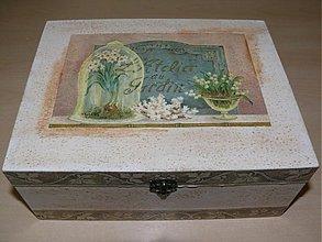 Krabičky - Romantická šperkovnica - Gardin - 2293818