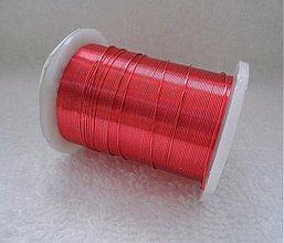 Suroviny - Biž.drôt 0,3mm-10m (5-červená) - 2296000