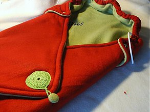 Textil - zavinovačka červenozelená, obojstranná - 2300129