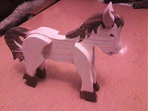 Hračky - Koník pálený - 2303670