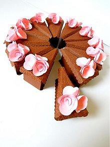 Darčeky pre svadobčanov - Čokoládová ruženka - 2304078
