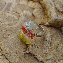 Prstene - Bublinkový prsteň - darček k objednávke - 2307034