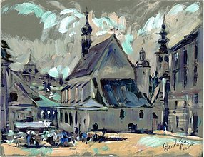 Obrazy - Reprodukcia - Potulky mestami - 2307676