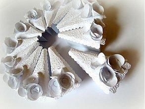 Darčeky pre svadobčanov - Biela čokoládka... - 2309005