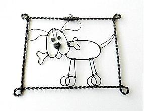 Dekorácie - ☺ Pozor DOBRÝ pes ☺ - 2311376