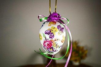 Dekorácie - Veľkonočné vajíčko - Iris - 2319974