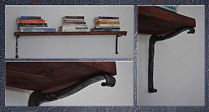 Nábytok - Kované konzoly na poličku - 2320149