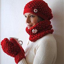 Čiapky - red Riding HooD - 2322090