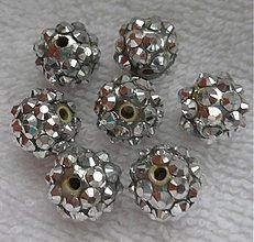 Korálky - Plast.rondelka 12x10mm-1ks - 2323098