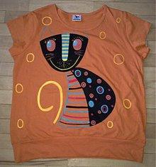 Tričká - cica na tričku - 2326325