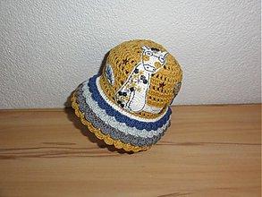 Detské čiapky - Safari klobučik - 2329394