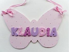Tabuľky - na motýlích krídlach - 2331702