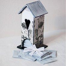 Nádoby - Domček na čaj - Spomienka na babičkine časy - 2333566