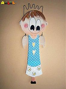 Dekorácie - Anjel chlapec - 2335681
