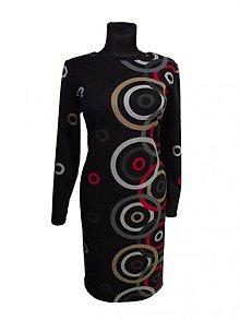 Šaty - šaty s kruhmi - 2339270