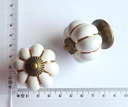 Polotovary - keramická nábytková úchytka - 2343247
